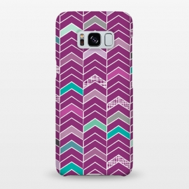 Galaxy S8+  Chevron Purple by Rosie Simons ()