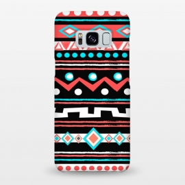 Galaxy S8+  Black Tipi by Nika Martinez