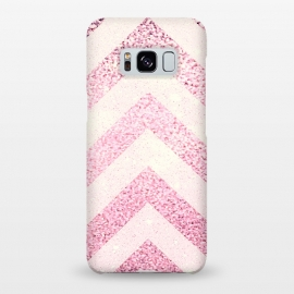 Galaxy S8+  Party Chevron Powder by Monika Strigel ()