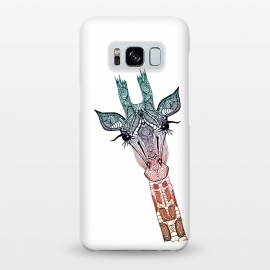 Galaxy S8+  Giraffe Teal by Monika Strigel ()