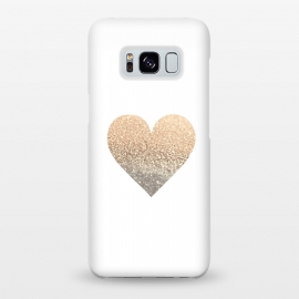 Galaxy S8+  Gatsby Gold Heart by Monika Strigel ()