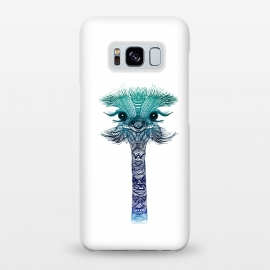 Galaxy S8+  Ostrich Strigel Blue Mint by Monika Strigel ()
