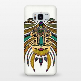 Galaxy S8+  Emperor Tribal Lion by Pom Graphic Design