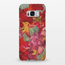 Galaxy S8+  Vintage Flowers by Eleaxart
