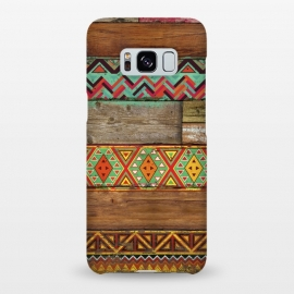 Galaxy S8+  INDIAN WOOD by Diego Tirigall