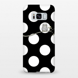 Galaxy S8+  Out on a Limb Polka Dot Owl Moon by Micklyn Le Feuvre ()