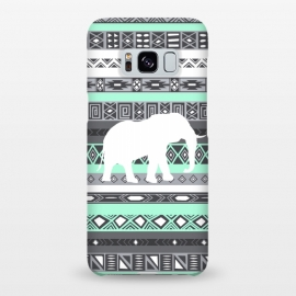 Galaxy S8+  Tiffany Elephant Aztec by Rex lambo