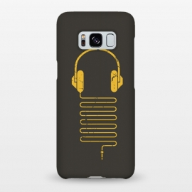 Galaxy S8+  GOLD HEADPHONES by Sitchko Igor