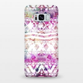 Galaxy S8+  Nebula Flowers Floral by Girly Trend ()