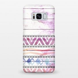 Galaxy S8+  Aztec Wood Watercolor by Girly Trend ()