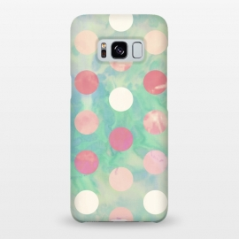 Galaxy S8+  Polka Dots Watercolor Front by Girly Trend ()