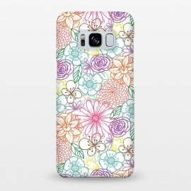 Galaxy S8+  Bright Floral by TracyLucy Designs ()