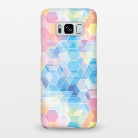 Galaxy S8+  Hexagons by M.O.K.