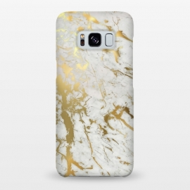 Galaxy S8+  Gold Marble by M.O.K. ()