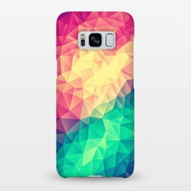Galaxy S8+  MultiColor Cubizm Painting by Philipp Rietz ()