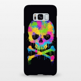Galaxy S8+  Grafitti Watercolor Skull by Philipp Rietz ()