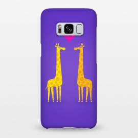 Galaxy S8+  Couple in Love Purple by Philipp Rietz