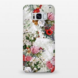 Galaxy S8+  Floral Pattern II by Riza Peker (Floral,botanical,pşants,spring,summer,art,design,RizaPeker)