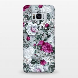 Galaxy S8+  Floral Pattern V by Riza Peker (flowers,roses,romantic,art,design,RizaPeker)