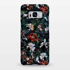 Galaxy S8+  Floral Pattern VI by Riza Peker (Floral,design,art,botanical,flowers,Rizapeker)