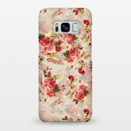 Galaxy S8+  Floral Pattern X by Riza Peker (Flowers,Roses,art,design,RizaPeker)