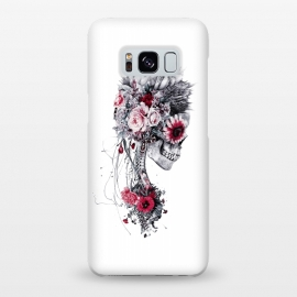 Galaxy S8+  Skeleton Bride by Riza Peker (Floral,skull,collage,tattoo,art,design,rizapeker)