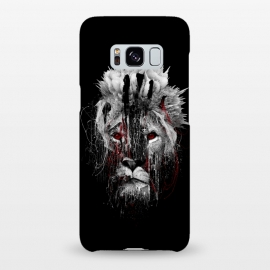 Galaxy S8+  Lion BW by Riza Peker