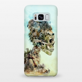 Galaxy S8+  Nature Skull by Riza Peker