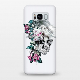 Galaxy S8+  Momento Mori Rev V by Riza Peker (skull,floral,snake,tattoo,design,surreal,art,rizapeker)