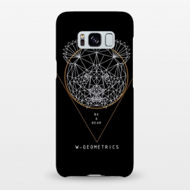 Galaxy S8+  Bear Black by W-Geometrics