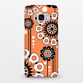 Galaxy S8+  Orange Flowers by Shelly Bremmer ()