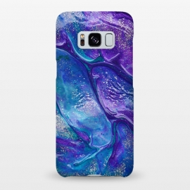Galaxy S8+  AC9 by Ashley Camille (purple,blue,glitter,paint,painting)