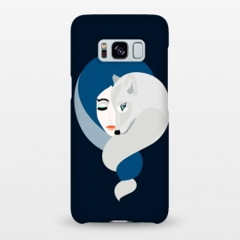Galaxy S8+  White Wolf by Stefania Pochesci ()