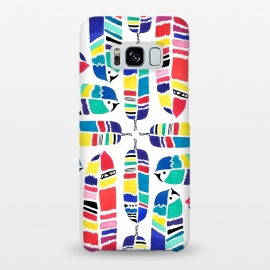 Galaxy S8+  Tribal Feathers by Amaya Brydon ()