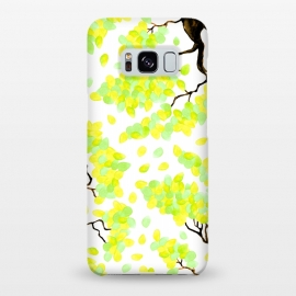 Galaxy S8+  Petal Yellow by Amaya Brydon
