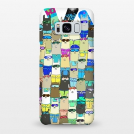 Galaxy S8+  Snow? No Prob-Llama Alpaca My Board! by Amaya Brydon (alpacas,llamas,snow,snowboarding,boarders,sport,funny,pattern,illustration,extreme)