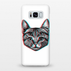 Galaxy S8+  3D Cat by Mitxel Gonzalez
