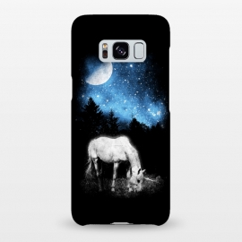 Galaxy S8+  Mooonlight Unicorn by Mitxel Gonzalez