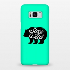 Galaxy S8+  Stay Wild by Mitxel Gonzalez (wild,wildness,bear,forest,inspiring,savage,grizzly,mountains)