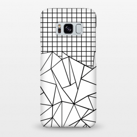 Galaxy S8+  AB Grid White by Project M ()