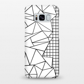 Galaxy S8+  AB Side Grid White by Project M ()