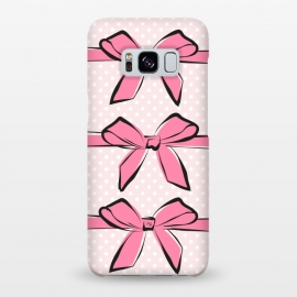 Galaxy S8+  Pink Bows by Martina ()