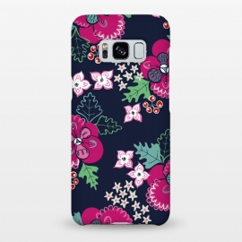 Galaxy S8+  Pretty Pansy by Kimrhi Studios ()