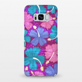 Galaxy S8+  Hawaii Surf by Kimrhi Studios (floral,tropical,flowers,hawaii,botanical,organic)