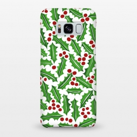 Galaxy S8+  Jolly Holly Red and Green Light by Kimrhi Studios ()