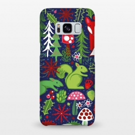 Galaxy S8+  Woodland Xmas by Kimrhi Studios ()