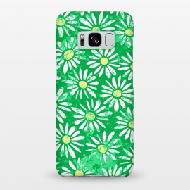 Galaxy S8+  Daisy Scrunch Green by Kimrhi Studios ()
