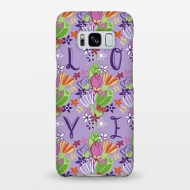 Galaxy S8+  Spring Love by Kimrhi Studios (LOVE,spring,floral,flowers)