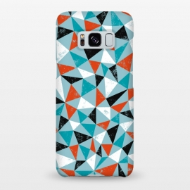 Galaxy S8+  Dude by Kimrhi Studios (triangle,geo,teal,turqoise,modern)