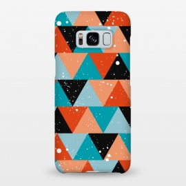 Galaxy S8+  Champ by Kimrhi Studios (modern,geo,triangle,paint)